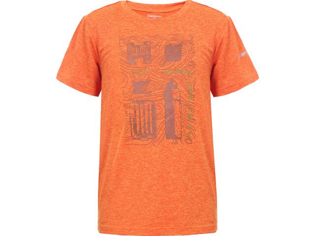 Icepeak Lorch T-shirt Børn, burned orange